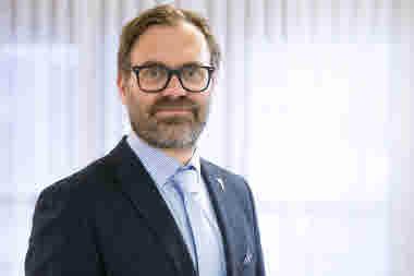 Tomas Järvinen, vd Folkhälsan Utbildning. Foto: Folkhälsan/Hanna Rundell