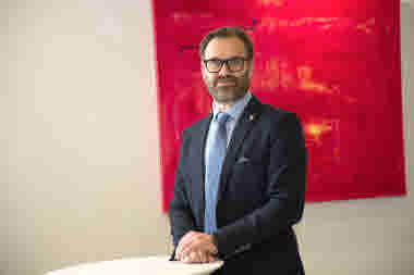 Tomas Järvinen, vd, Folkhälsan Utbildning Ab. Foto: Folkhälsan/Hannes Victorzon