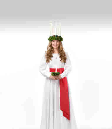 Finlands Lucia 2018 Elin Qvist, fotograf Askar Ibragimov