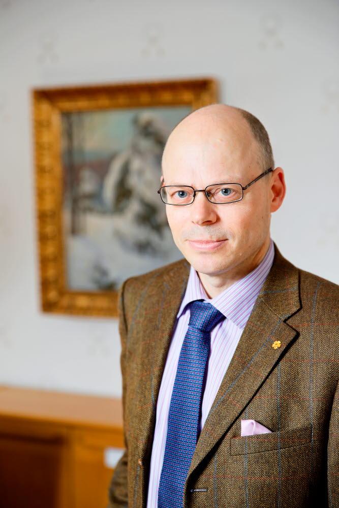 Georg Henrik Wrede, vd Samfundet Folkhälsan. Foto: Folkhälsan/Mikko Käkelä