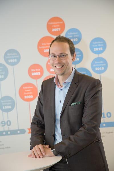 Niklas Talling, förvaltningsdirektör, Samfundet Folkhälsan