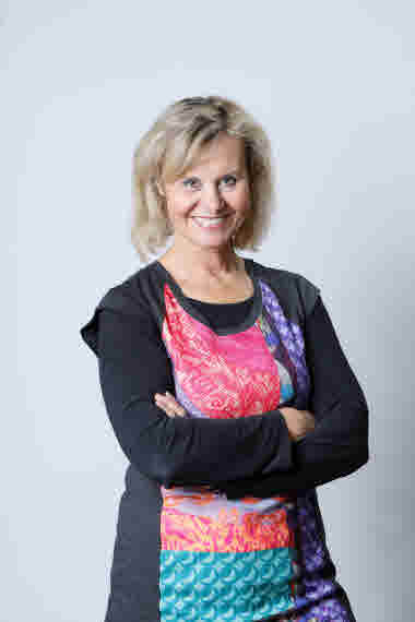 Camilla Westerlund, kommunikationschef Folkhälsan. Foto: Folkhälsan/Mikko Käkelä