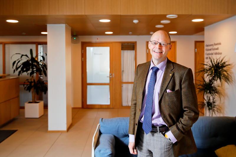 Georg Henrik Wrede, vd Samfundet Folkhälsan