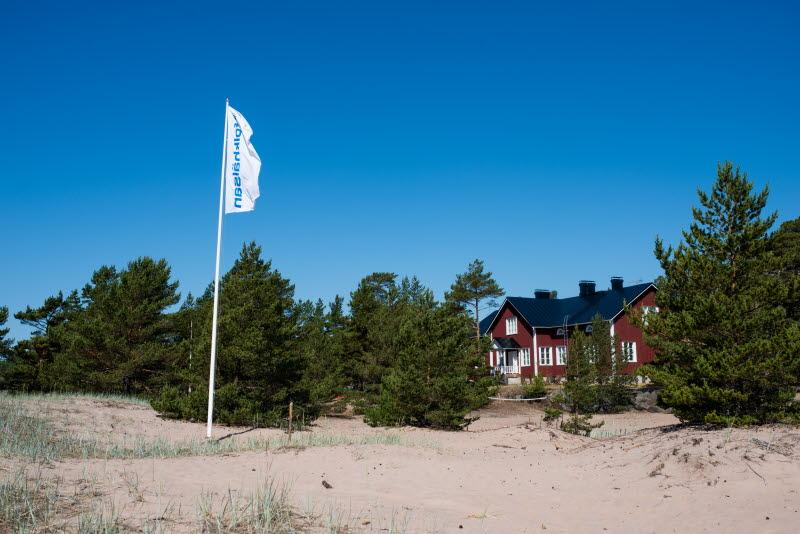 Folkhälsans sommarläger, Breidablick lägergård. Foto: Folkhälsan/Niklas Ramstedt