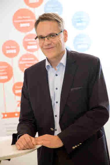 Christer Holmström, ekonomidirektör, Samfundet Folkhälsan. Foto: Folkhälsan/Hannes Victorzon