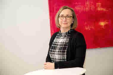 Anna-Elina Lehesjoki, forskningsdirektör, Folkhälsans forskningscentrum. Foto: Folkhälsan/Hannes Victorzon