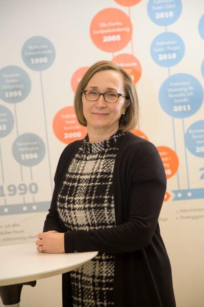 Anna-Elina Lehesjoki, forskningsdirektör, Folkhälsans forskningscentrum